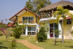 Beach house in Thailand Royalty Free Stock Photos