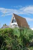 Beach House. Velano beach St.Augustine, Florida stock photos