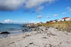 Beach houses Stock Photography