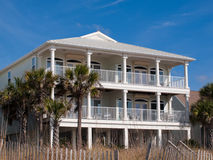 Beach Houses Royalty Free Stock Photo