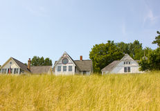 Beach Houses Royalty Free Stock Photography