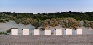 Beach houses Stock Image