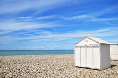 Beach-houses Royalty Free Stock Photography