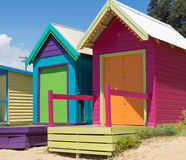 Beach houses,  Australia Stock Image