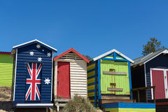 Beach houses,  Australia Stock Photos