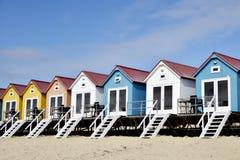 Beach houses Royalty Free Stock Photos