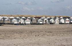 Beach houses Royalty Free Stock Image