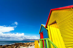 Beach Houses. In St.James South Africa Royalty Free Stock Photo
