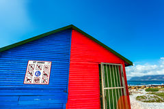 Beach Houses. In St.James South Africa Stock Images