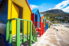 Beach Houses. In St.James South Africa Royalty Free Stock Image