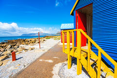 Beach houses. In St.James South Africa Stock Photos