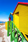 Beach Houses. In St.James South Africa Stock Image