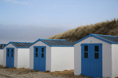 Beach Houses Texel - 3 Stock Photos