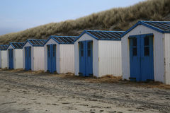 Beach Houses Texel Stock Images