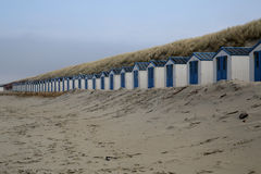 Beach Houses Texel Stock Photos