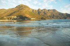 Beach in Hout Bay Stock Images