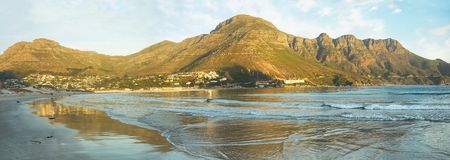 Beach in Hout Bay Royalty Free Stock Images