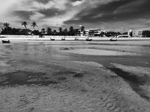 Beach in Hua Hin royalty free stock images