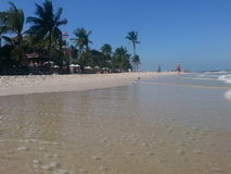 Beach Hua Hin Stock Image