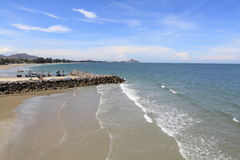 Beach at hua hin,thailand Stock Image