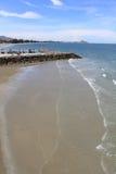 Beach at hua hin,thailand Royalty Free Stock Photos