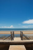 The beach at Hua Hin, Thailand Stock Images