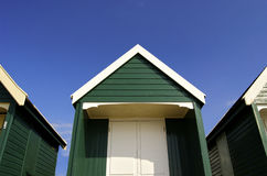 Beach Hut. For a summer at the sea side Royalty Free Stock Photography