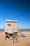 Beach hut Stock Photo