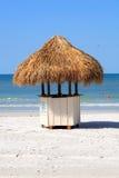 Beach Hut. A vending hut on a beach Stock Photos