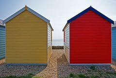 Beach Hut 3 Royalty Free Stock Photography