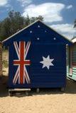 Beach Hut. A Beach Hut on Brighton Beach, Melbourne, Victoria, Australia Stock Photography