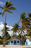Beach Hut. This image shows a colorful beach hut in Punta Cana, Dominican Republic Royalty Free Stock Images