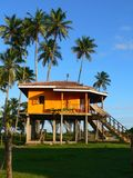 Beach hut. Beach house Royalty Free Stock Images