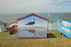 Beach Hut Art Royalty Free Stock Image