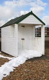 Beach hut at Bexhill-0n-Sea. UK Stock Image