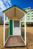 Beach Hut - Caorle Venezia Italy Royalty Free Stock Photos