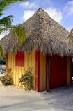 Beach Hut at Coco Cay Stock Image