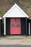 Beach hut Stock Image