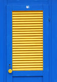 Beach hut door stock photos