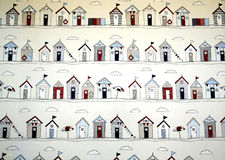 Beach hut graphics Stock Image