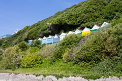 Beach Hut Hill Royalty Free Stock Photo