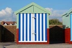 Beach Hut at Hove, Brighton, England Stock Photography