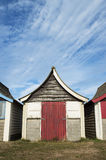 Beach Hut at Mablethorpe Stock Images
