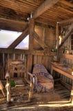Beach Hut made of Flotsam Royalty Free Stock Photography