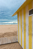 Beach hut Royalty Free Stock Image
