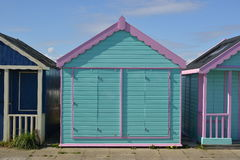 Beach hut at Skegness Royalty Free Stock Photos