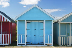 Beach hut at Skegness Stock Photography
