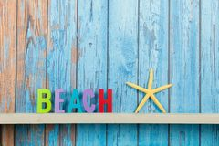 Beach hut Royalty Free Stock Image