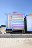 Beach hut stripey Royalty Free Stock Photography