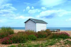 Beach hut summer nature Kent England Stock Photography